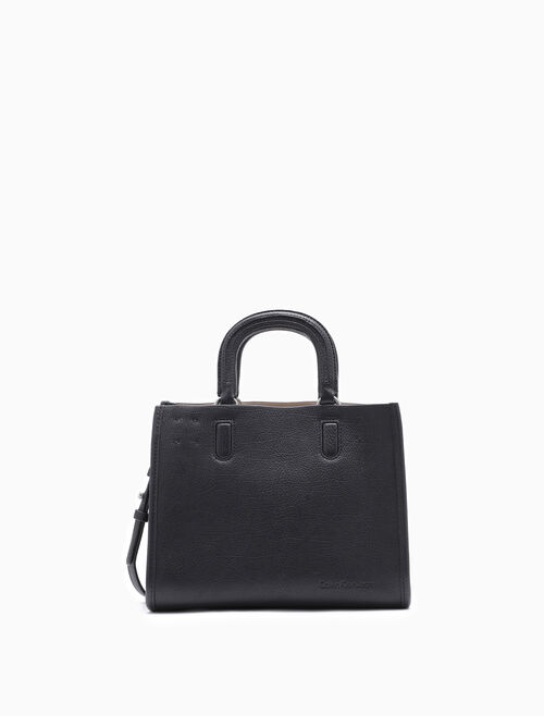 CALVIN KLEIN MULTI COMPARTMENT STUDIO DAY SATCHEL