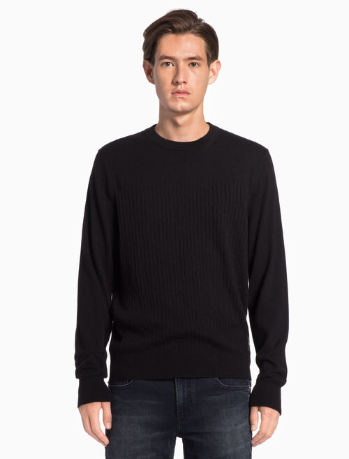 CALVIN KLEIN INSTITUTIONAL PULLOVER SWEATER