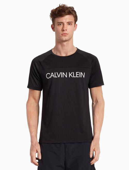 CALVIN KLEIN LOGO SHORT SLEEVE MODULAR TEE