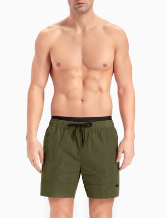 CALVIN KLEIN TECH TAILORED MEDIUM DOUBLE WAISTBAND SHORTS