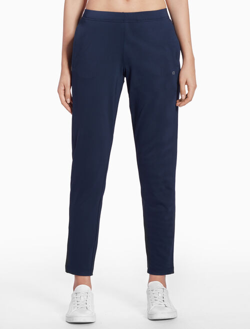 CALVIN KLEIN STRAIGHT SWEAT PANTS WITH LOGO BAND