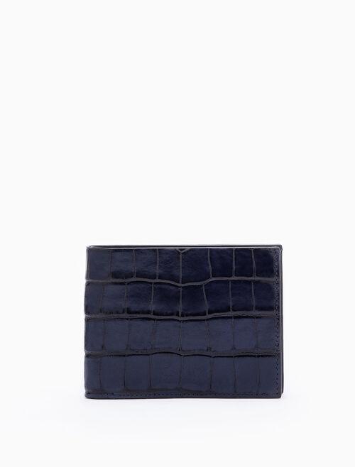 CALVIN KLEIN 對摺式錢包附卡片夾