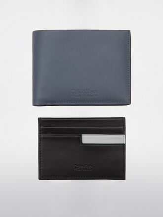 CALVIN KLEIN CLASSIC BILLFOLD WITH REMOVABLE CARDCASE