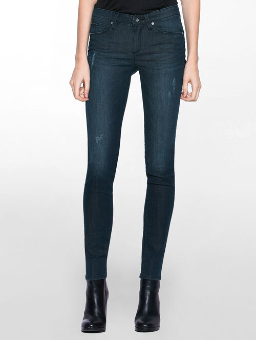 CALVIN KLEIN SHADOW BLUE BODY FIT JEANS