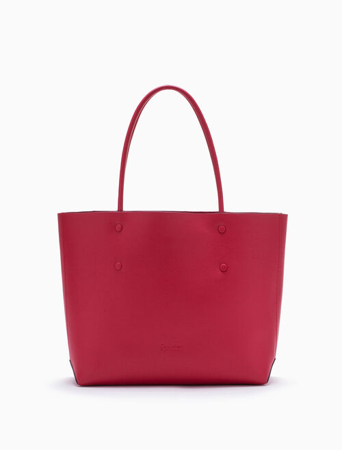CALVIN KLEIN ENVELOPED SMALL SHOPPING TOTE