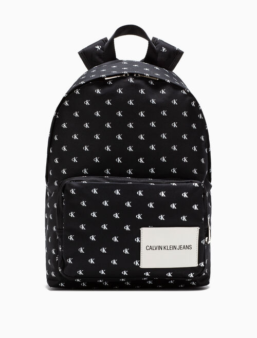 CALVIN KLEIN LOGO CAMPUS BACKPACK 45