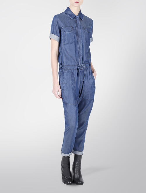 CALVIN KLEIN DENIM JUMPSUIT