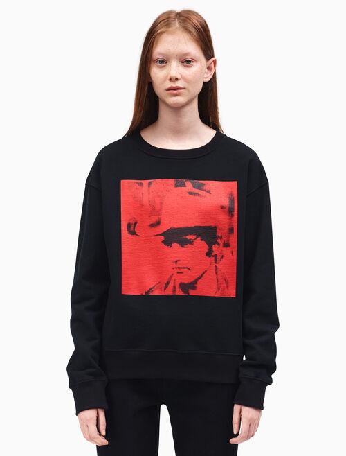CALVIN KLEIN dennis hopper crewneck sweatshirt