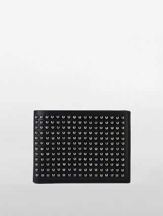 CALVIN KLEIN MENS CLASSIC BILLFOLD WITH STUD