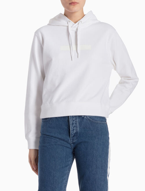 CALVIN KLEIN LOGO フード付きスウェットシャツ