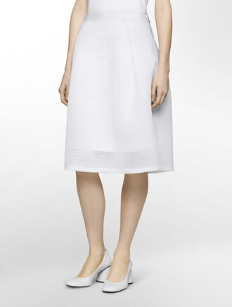 CALVIN KLEIN AIR SPACER MESH SKIRT