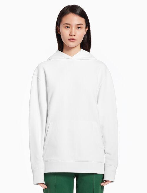 CALVIN KLEIN Flower print sweatshirt dress