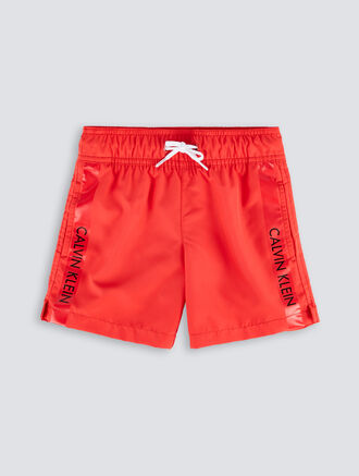 CALVIN KLEIN Boys Swim Shorts - Logo Tape