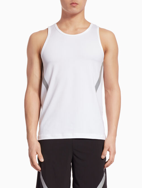CALVIN KLEIN TANK TOP WITH STRIPES