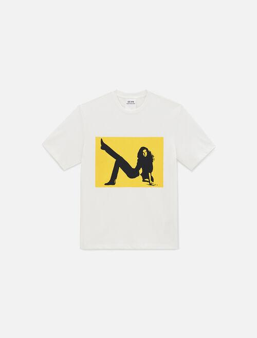 CALVIN KLEIN Icon Printed Crewneck T-Shirt