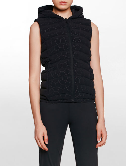 CALVIN KLEIN HEXAGON DOWN VEST