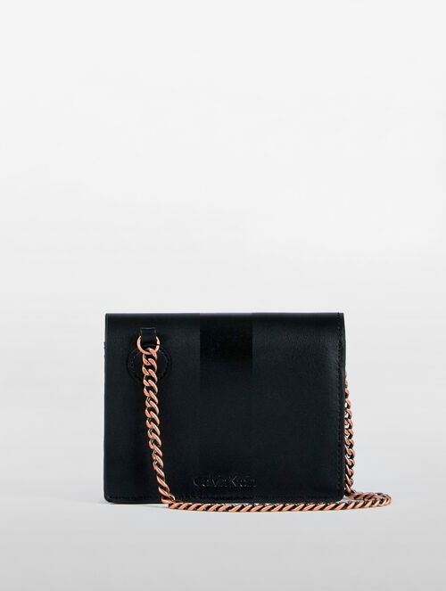 CALVIN KLEIN SMALL WALLET WITH CHAIN