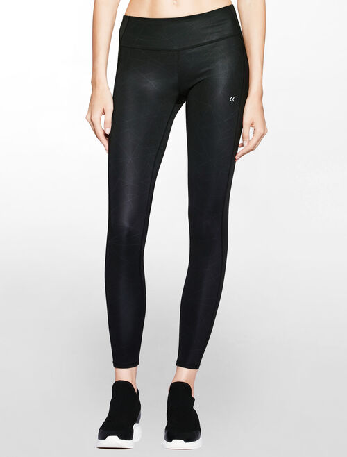 CALVIN KLEIN FULL LENGTH LEGGING WITH SIDE PANELS