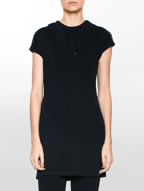 CALVIN KLEIN BABYJERSEY HOOD DRESS