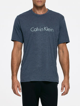 CALVIN KLEIN LIQUID LUXE SHORT SLEEVES CREW NECK TEE