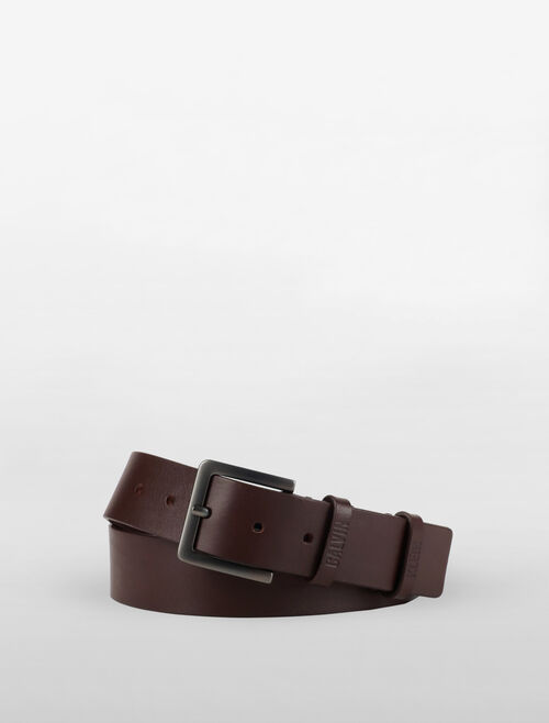 CALVIN KLEIN DOUBLE LOOP BELT
