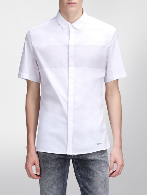 CALVIN KLEIN ブライトホワイト シャツ