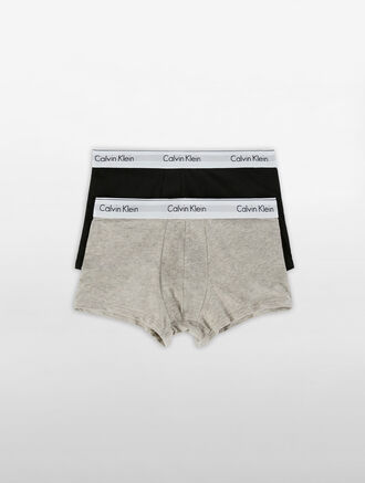 CALVIN KLEIN MODERN COTTON STRETCH TRUNK - 2 PACKS