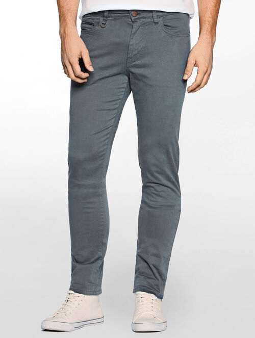 CALVIN KLEIN GERST SLIM STRAIGHT PANTS