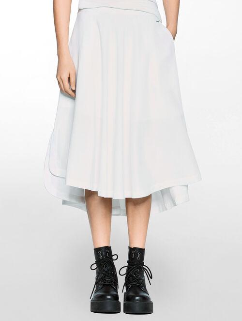 CALVIN KLEIN ハイロー スカート