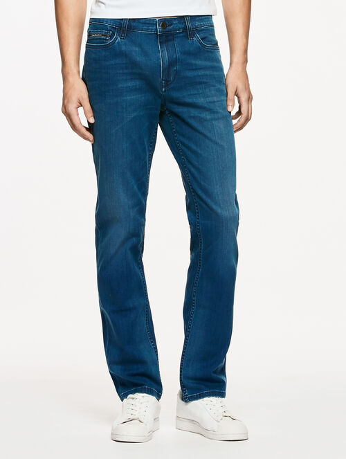 CALVIN KLEIN WASH OUT MIDBST BODY FIT JEANS