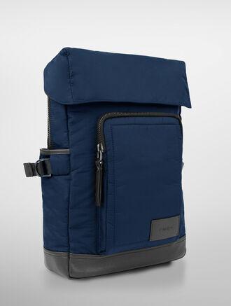 CALVIN KLEIN TRANSIT CONVERTIBLE BACKPACK ( 2 IN 1 BAG )