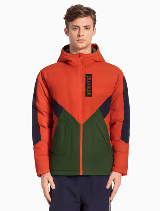CALVIN KLEIN SHORT RETRO DOWN JACKET