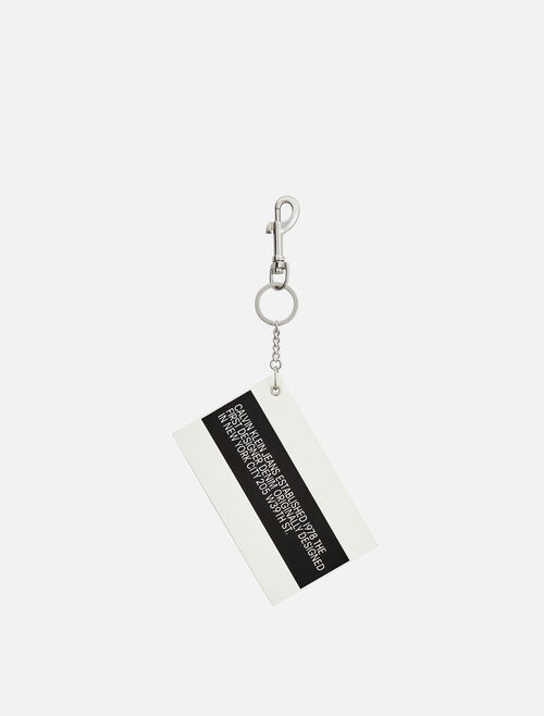 CALVIN KLEIN Est 1978 Patch Key Chain