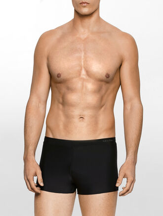 CALVIN KLEIN SOLID TRUNKS