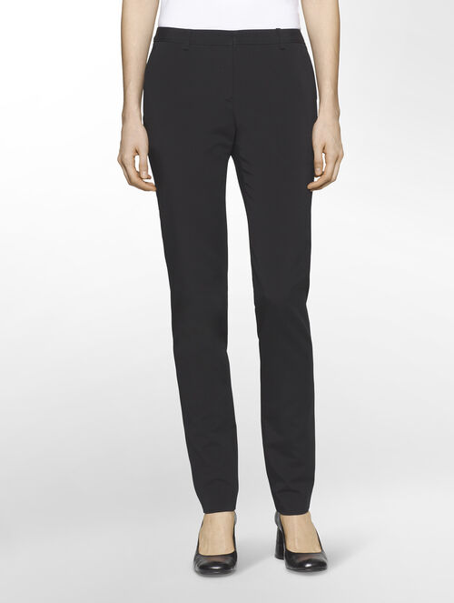 CALVIN KLEIN COTTON TRIACETATE EXTREME SKINNY BASIC PANTS( PIPER FIT )