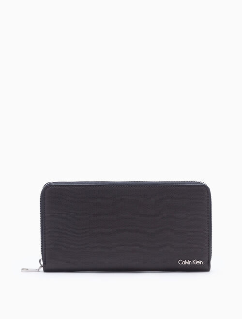 CALVIN KLEIN AIDEN LONG ZIP AROUND WALLET