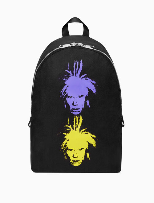 CALVIN KLEIN Warhol Portrait Campus Backpack