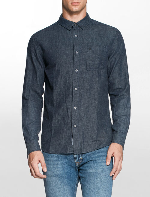 CALVIN KLEIN NIGHT SKY CASUAL SHIRT
