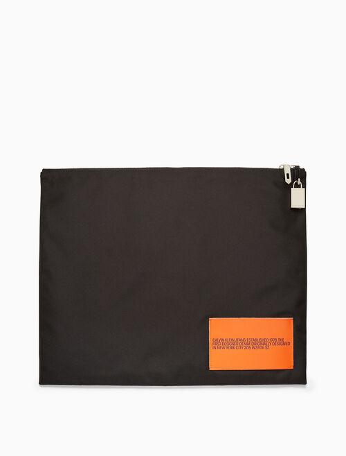 CALVIN KLEIN nylon pouch