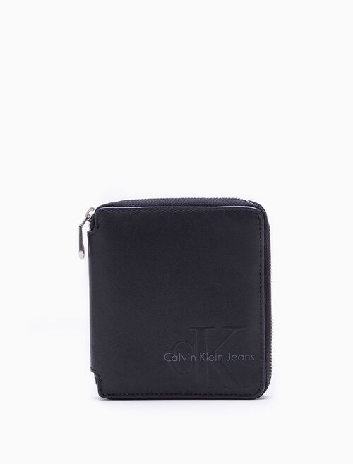 CALVIN KLEIN RE-ISSUE SQUARE ZIP WALLET