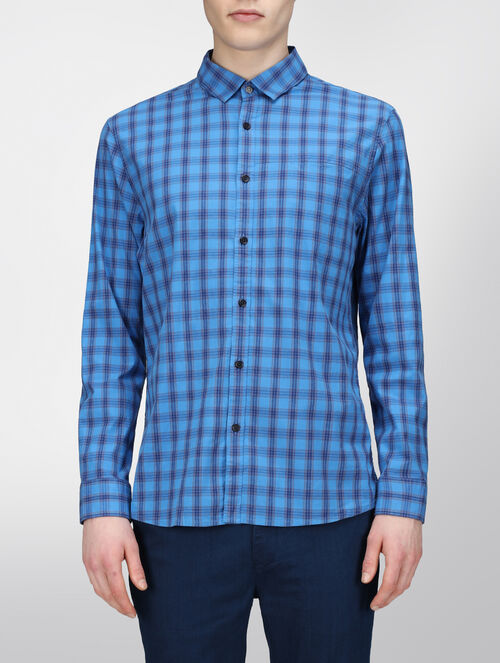 CALVIN KLEIN ECROSS CHECK SHIRT