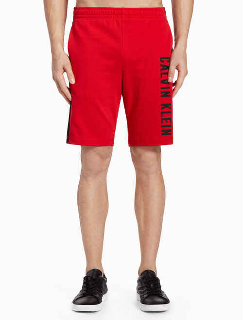 CALVIN KLEIN KNIT SWEAT SHORTS WITH LOGO BAND
