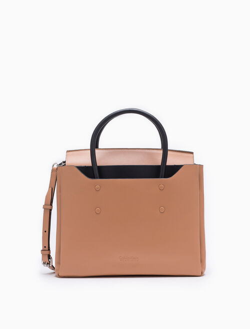 CALVIN KLEIN FOLDED MEDIUM CARRYALL