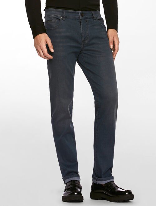 CALVIN KLEIN DUSTRY BLUE STRETCH BODY JEANS
