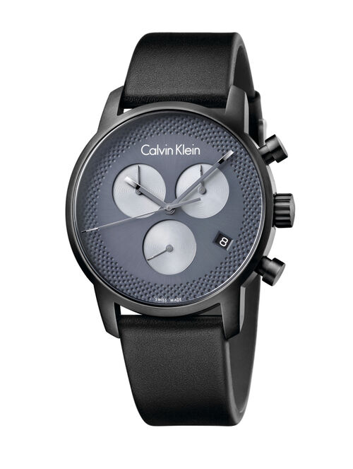 CALVIN KLEIN CITY CHRONO EXTENSION WATCH