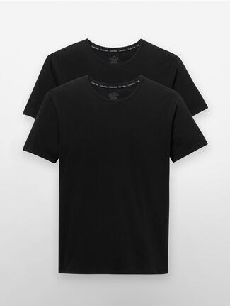 CALVIN KLEIN MODERN COTTON STRETCH SHORT SLEEVES CREW NECK TEE - 2 PACK