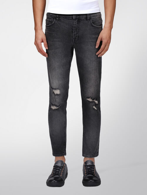 CALVIN KLEIN CHAROCAL SKINNY ANKLE JEANS