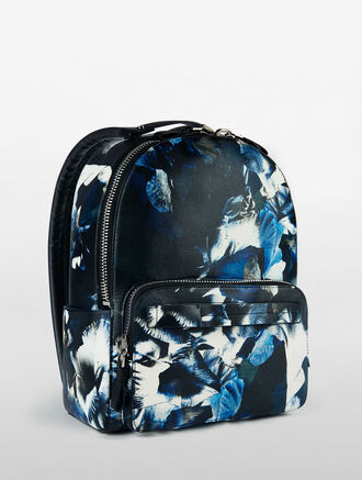 CALVIN KLEIN HYPER FLORAL MEDIUM BACKPACK