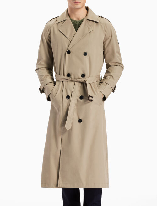 CALVIN KLEIN A-OTRENCH COAT