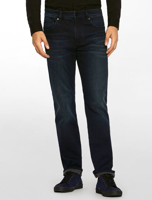 CALVIN KLEIN LIGHT BLACK INDIGO BODY JEANS